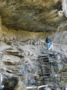 inside grotto