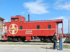 railroad in dodge city