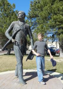 statue of wyatt earp