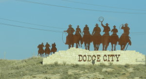 dodge city sign