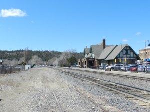 railroad in Flagstaff