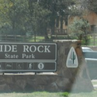 Roadschooling across the USA: History and Fun at Slide Rock State Park, AZ