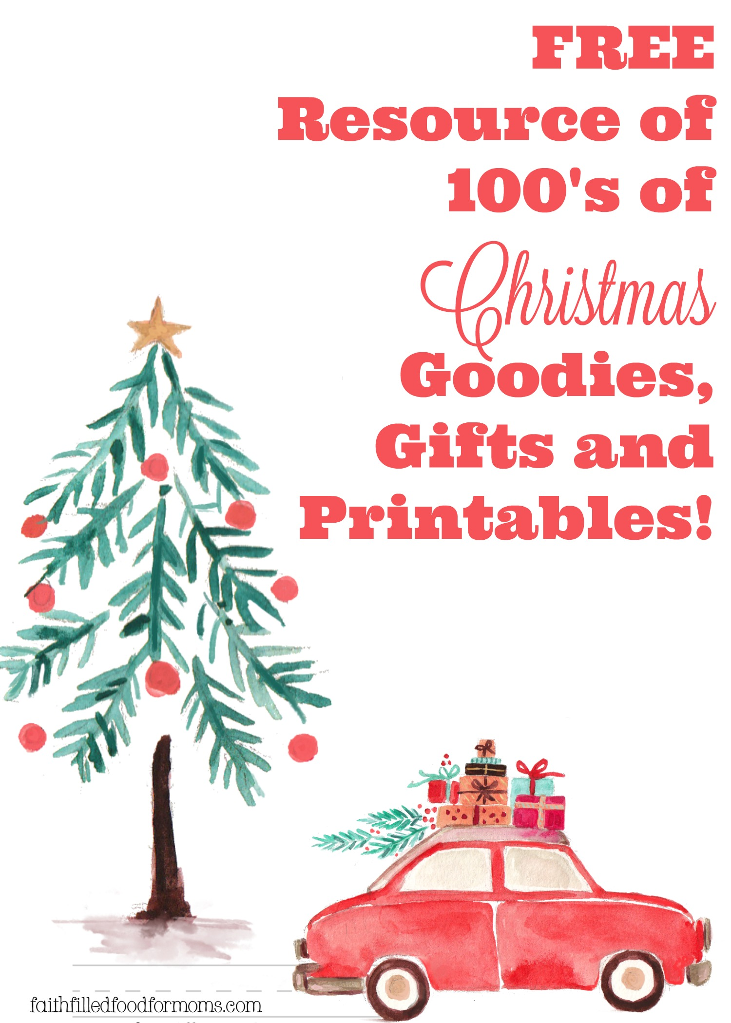Free Resource Of 100 S Christmas Goo S Ts And Printables Faith Filled Food For Moms