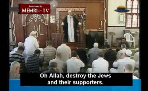 Allah destroy Jews