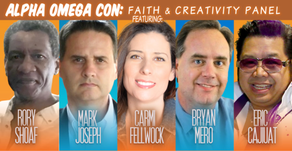 Faithful Creative – Ep 08 – Alpha Omega Con - Faith & Creativity Panel