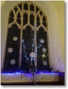St Mary's church East Walton 2015 Carols in the Church