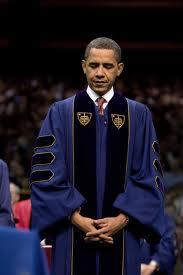 President Obama at Notre Dame.