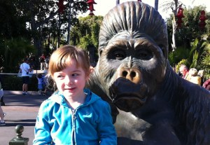 Margaret at the Zoo