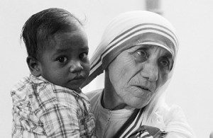 "Mother Teresa, called the ""Saint of the Gutters"" is one of the iconic figures of 20th Century Catholicism."
