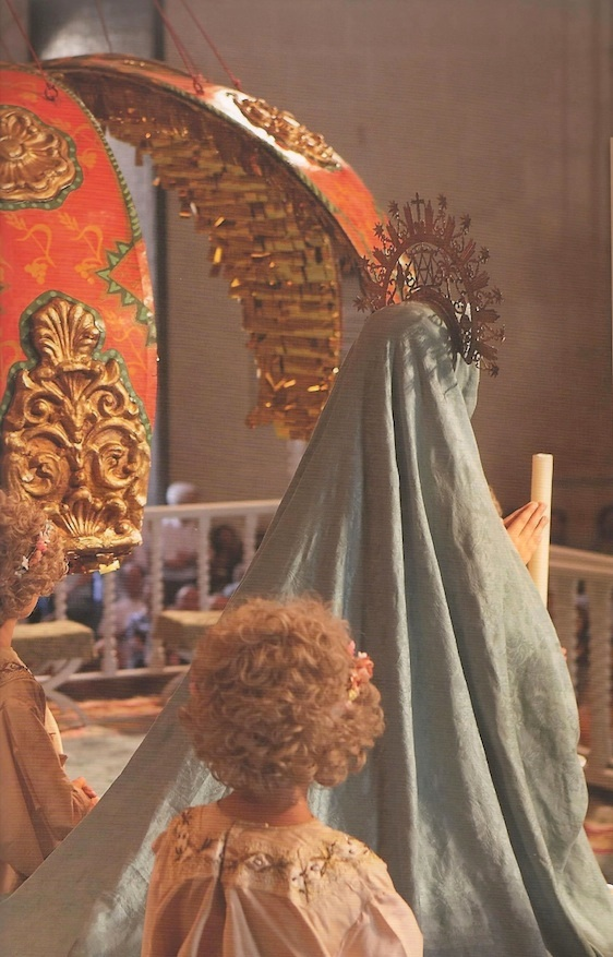 The story of the Assumption has been enacted in the Spanish city of Elche since the 14th century