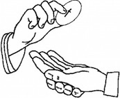 communion in the hand