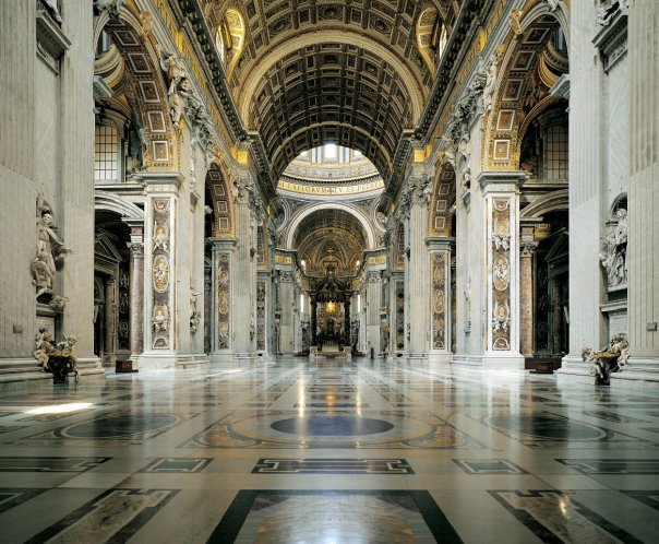 St. Peter's Basilica built above the tomb of the Prince of the Apostles is an architectural tour de force developed as a response to the Protestant Reformation of the 1500s.