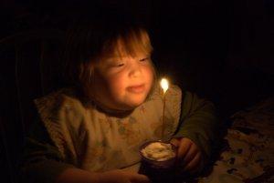 Faith Birthday Candle