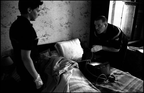 St Brieuc, mai 2004, 12H35 personne en détresse respiratoir