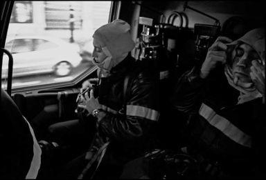 Lyon avril 2004 10H30, départ pour feu de voiture.