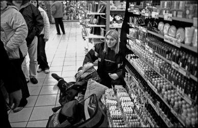 Liévin Pas de Calais février 2004, 10H50 malaise dans une grande surface d'un magasin.