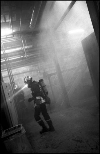 Angoulême Janvier 2004, 2h32 usine la SAFT, incendie dans les ateliers de l'usine.