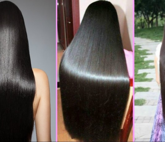 long silky hair