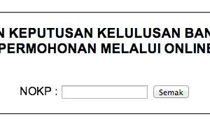Semakan Permohonan Maik Wang Ehsan Kelantan Kelantan