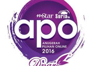 Anugerah Pilihan Online (APO2016) | Blog Pilihan Online