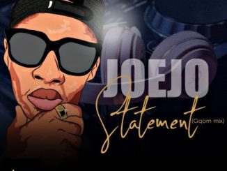 Joejo – Statement