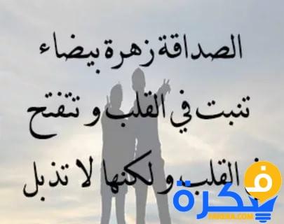 شعر قصير عن الصديق المصلحجي Shaer Blog