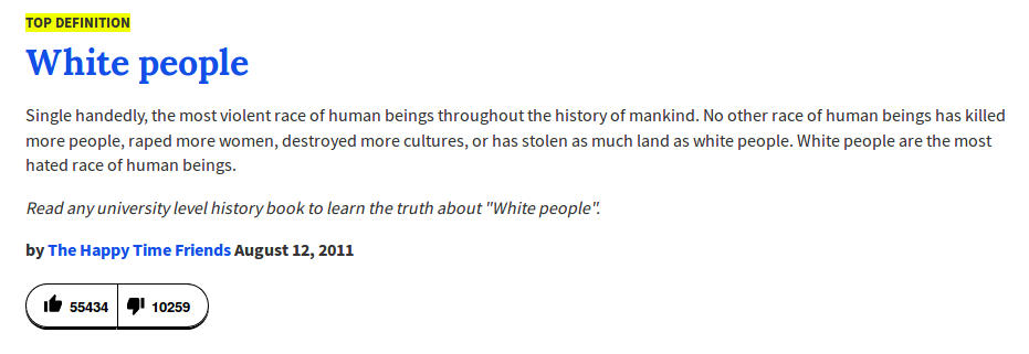 white people - top definition - urban dictionary - FAKTUM MAGAZIN
