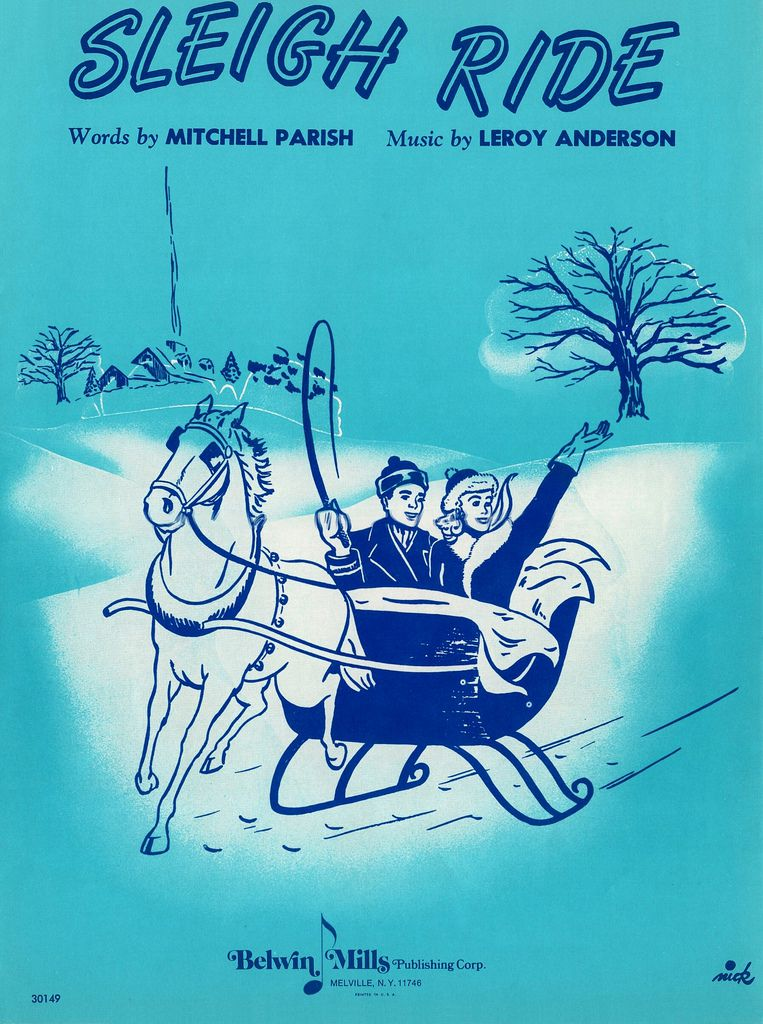 """Leroy Anderson's """"Sleigh Ride"""" (1948)"""