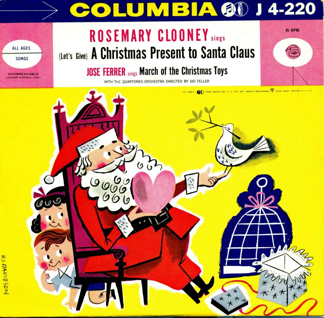 AiC 2013 – Dec. 6 – Rosemary Clooney – (Let's Give) A Christmas Present to Santa Claus