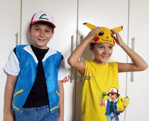 DIY ash pokemon fantasia