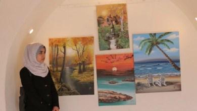 "Photo of ""الفنون والحرف"" تفتتح معرض أنامل وردية 2 للإبداعات الفنية"