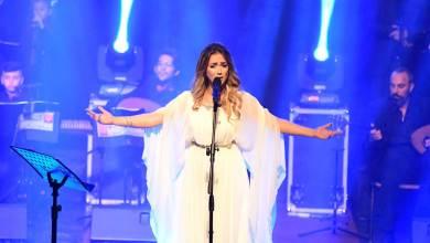 Photo of دلال ابو آمنة تغني اللغة العربية على مسرح اليونسكو في باريس