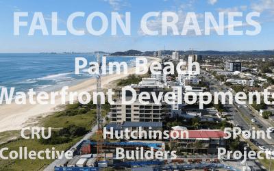 Falcon Cranes Now Servicing Three Palm Beach Waterfront Developments