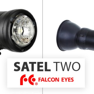 Satel Two Falcon Eyes Flash
