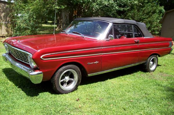 Door Ford V8 2 Falcon 1968 Red