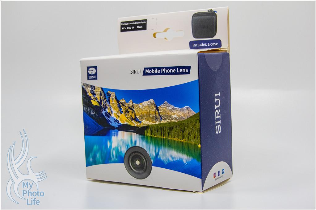 思銳Sirui FE魚眼手機鏡頭套組.簡易開箱