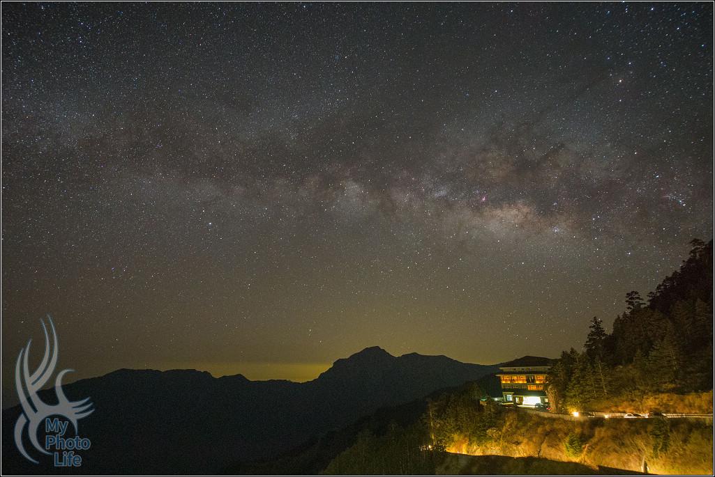 星空,夜景,銀河