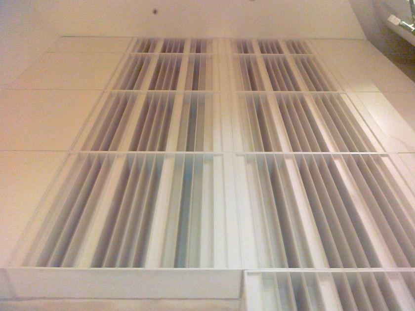 Moduli QRD installati in sala congressi