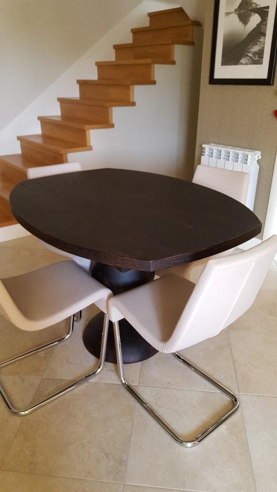 tavolo in rovere nero