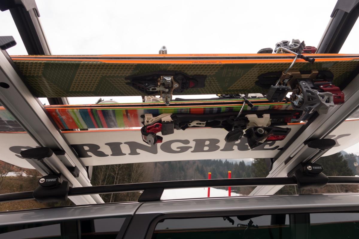 thule ski rack snowpack extender