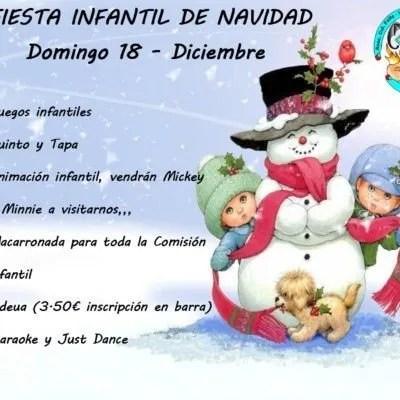 Fiesta Navidad Infantil