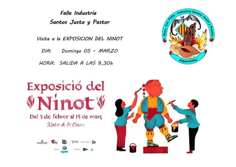 Visita Exposicion del Ninot  2017 - Falla Industria