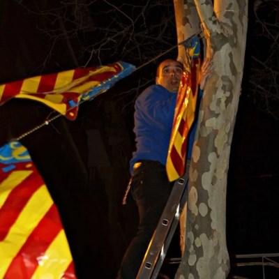 Puesta de Banderas 2017 Falla Industria