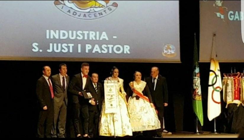 Gala del Deporte 2017 Falla Industria