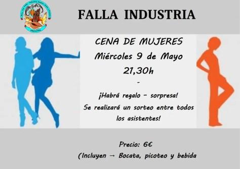 Cena Mujeres Mayo 2017 Falla Industria