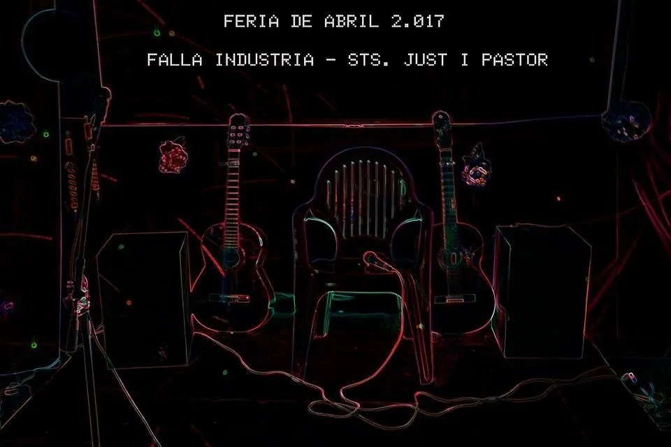 Feria Abril 2017  Falla Industria