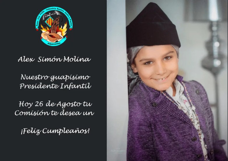 Cumpleaños Alex Simon