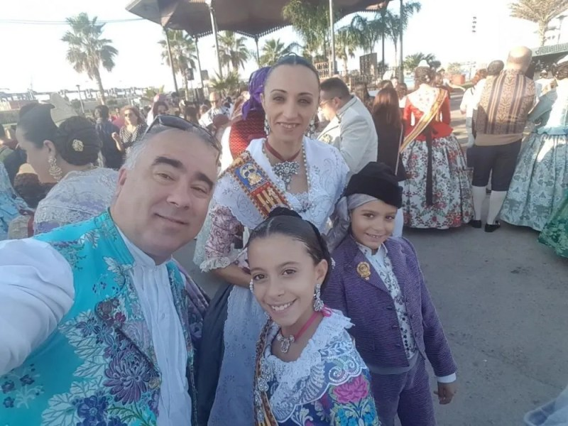 Ofrenda 2017 Virgen Sumergida