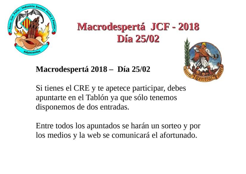 Macrodesperta 2018