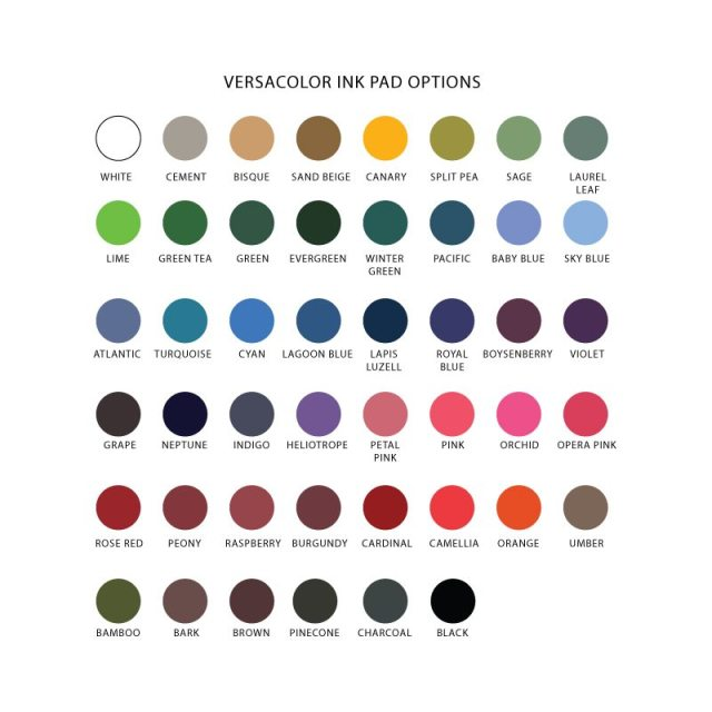 New Versacolor Ink Pads in the Shop!